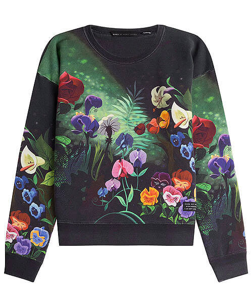 """Last collection for the brand, based on Alice in Wonderland - """"I am not like other girls"""" - in collaboration with Disney"""