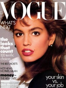 Cindy Crawford - Vogue - January 1987